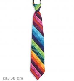 Krawatte bunt, ca. 38 cm