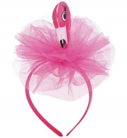 Haarreif Flamingo mit Tüll