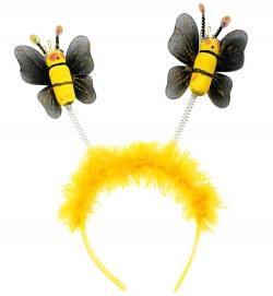 Haarreif mit Bienen