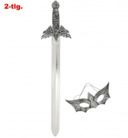 Drachentöter-Set, 2-tlg. (Schwert + Domino)