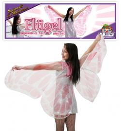Faschingsflügel - Schmetterlingflügel aus Stoff 200 cm