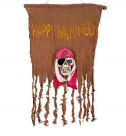 Deko Halloweenflagge, ca. 50 x 70 cm
