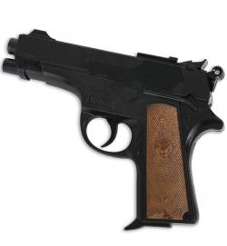 Pistole Leopardmatic 13-Schuß, ca. 18 cm Länge