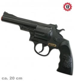 Revolver GSG 9-Agent,(12er-Ring Munition), ca. 20 cm Länge