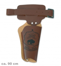 Revolvergürtel, ca. 90 cm Länge (Lederfaserstoff)