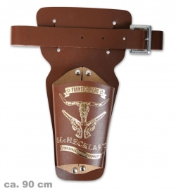 Revolvergürtel Marshal, ca.90cm Länge (Lederfaserstoff)
