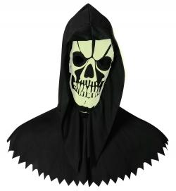 Skelett-Haube, nachtleuchtend