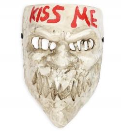 Horrormaske Kiss-me Halbmaske