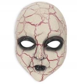 Horrormaske Alien Baby Halbmaske