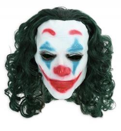 Maske Clown Joke mit Haaren