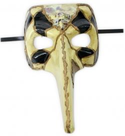 Venezianische Vogelmaske Schnabelmaske