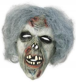 Zombiemaske mit Haaren
