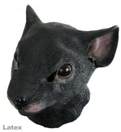 Vollmaske Riesen-Maus, Latex