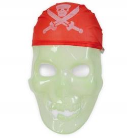 Piraten Maske nachtleuchtend