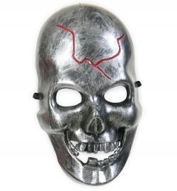 Schädel Maske mit Riss