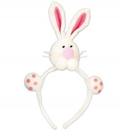 Haarreif Bunny mit Hasen Kopf und Pfoten