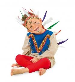 Indianer Häuptling Kopfschmuck für Kinder