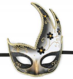 Venezianische Domino Maske