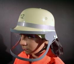 Faschingshelm Feuerwehr für Kinder