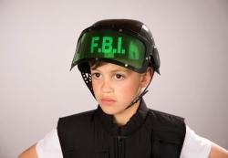 FBI-Helm für Kinder
