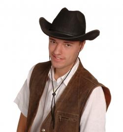 Cowboyhut Farbe schwarz