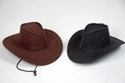 Cowboyhut mit Ziernaht