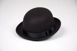 Melone schwarz Hutgröße 61