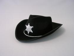 Cowboyhut mit großem Stern für Kinder