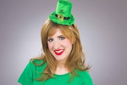 Kopfbügel mit Mini-Zylinder St. Patrick