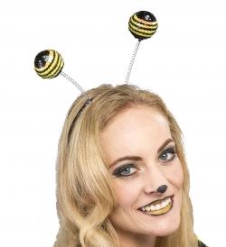 Biene Haarreif Kopfbügel mit Pailletten