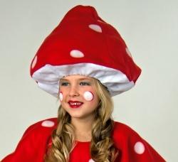 Fliegenpilz Hut Mütze für Kinder