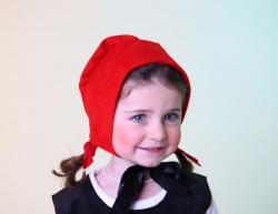 Rotkäppchenhaube für Kinder