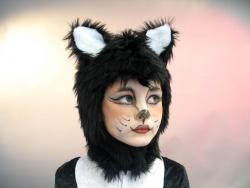 Katzenkappe für Kinder