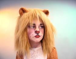 Tiermütze Löwe für Kinder