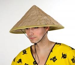 Strohhut Chinesen Hut