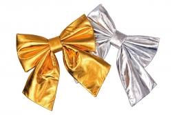 Riesen-Folienschleife, ca. 42 cm, gold