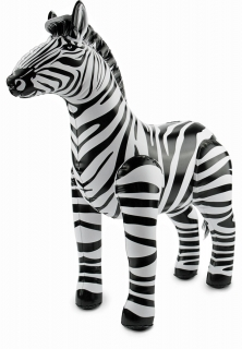 Zebra aufblasbarer
