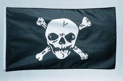 Fanartikel Fahne Piratenfahne 90 x 150 cm
