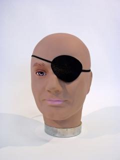 Schwarze Augenklappe