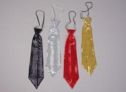 Krawatte mit Pailletten
