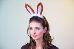 Hasenohren Bunnyohren braun