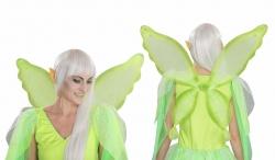 Elfenflügel Feenflügel grün, ca. 70 x 60 cm