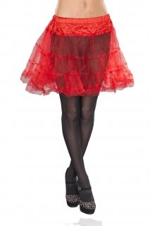 Petticoat Unterrock Farbe rot Größe M