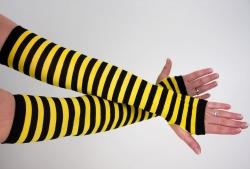 Faschings Armstulpen Biene