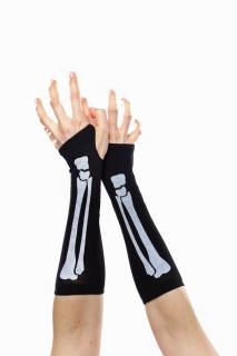 Armstulpen Skelett fingerlos