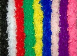Chandellenboa Feder Boa verschiedene Farben