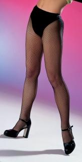 Netzstrumpfhose, feinmaschig mit Slip, schwarz