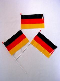 Deutschlandfähnchen, 1 Stk., 10x15cm