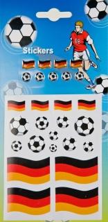 Fußball Deutschland Aufkleber
