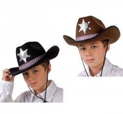 Cowboyhut mit Stern für Kinder